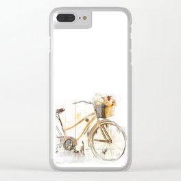 Bicycle Clear iPhone Case