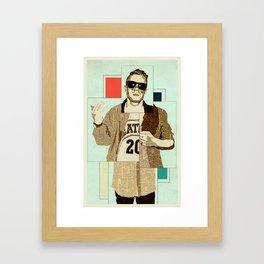 Macklemore Framed Art Print