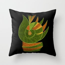 Aurora III Throw Pillow