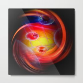 Abstract perspective Metal Print