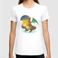 charizard T-shirts featuring Charizard by Jeanette Aga