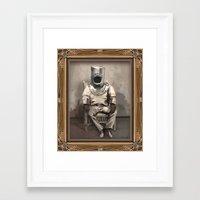 scuba Framed Art Prints featuring Scuba by Tapio Mömmö
