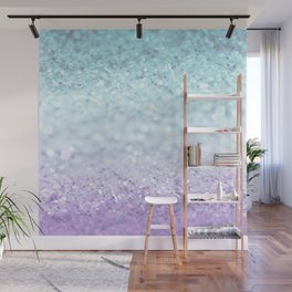MERMAIDIANS AQUA PURPLE Wall Mural