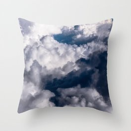Floating Above Throw Pillow