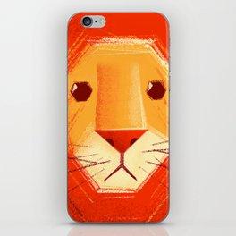 Sad lion iPhone Skin
