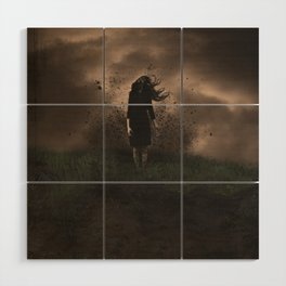A Force to be Reckened With Wood Wall Art