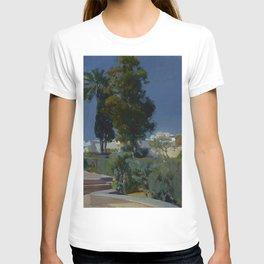 Joaquín Sorolla y Bastida (Spanish, 1863 - 1923) Corner of the Garden, Alcazar, Sevilla, 1910, Oil T-shirt