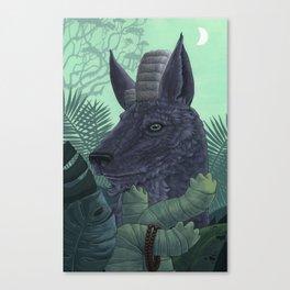 Faithful Companion Canvas Print