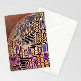 Atlante 10-06-16 / RETICULAR SURFACE Stationery Cards