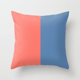 Living Coral On The Pacific Coast Throw Pillow