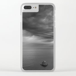 Alone Before The Storm Clear iPhone Case
