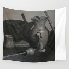 Native American Still Life Wall Tapestry