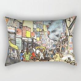Freaky New Delhi Rectangular Pillow