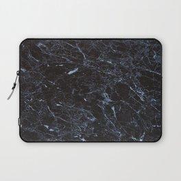 Dark blue Water Marble Laptop Sleeve