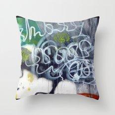 Wall, Pondicherry Throw Pillow