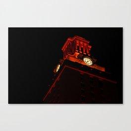 UT Tower At Night Canvas Print