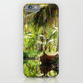 Green Oasis iPhone Case