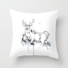 Crowned II Throw Pillow