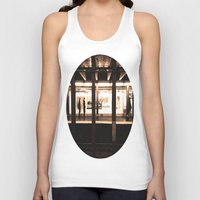 rush Tank Tops featuring Rush Hour by Brown Eyed Lady