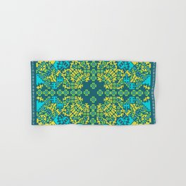 """Garden"" series #7 Hand & Bath Towel"