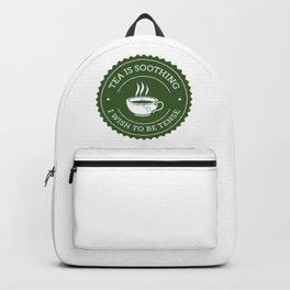 Tea Quote Backpack