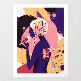 Empty Space Art Print
