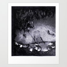 Cave Drawing III Art Print