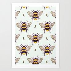 honey guards Art Print