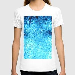 TurquoisE Pixels T-shirt