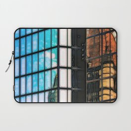 Reflections of Copley Square Buildings, Boston Laptop Sleeve