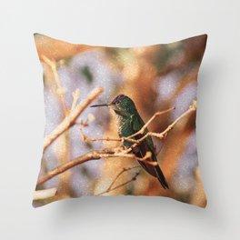 Bird - Photography Paper Effect 004 Throw Pillow