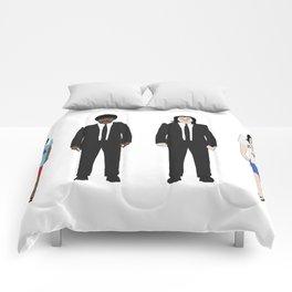 Pulp Fiction - Jules Winnfield and Vincent Vega  Comforters
