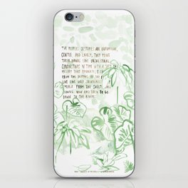 """Conquest of the Useless"" by Werner Herzog Print (v. 3) iPhone Skin"