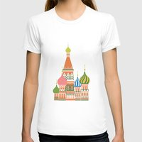 moscow T-shirts featuring Moscow by Chay Lazaro