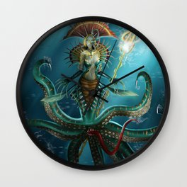 Deep Fear Wall Clock