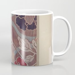Verneuil - Japanese paper and fabric designs (1913) - 65: Peonies Coffee Mug