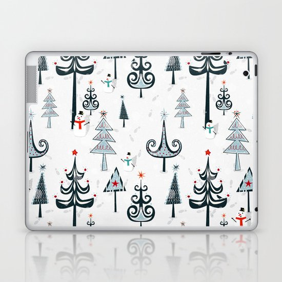 Christmas Tree Forest Laptop & iPad Skin