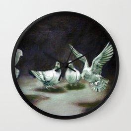 Bird Study Wall Clock