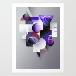 Let there be type Art Print