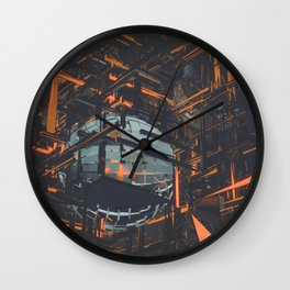 infrastructuralable Wall Clock