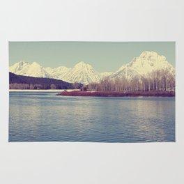 Grand Tetons on the Lake Rug