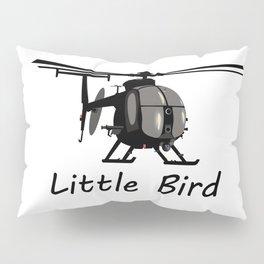 MH-6 Little Bird Helicopter Pillow Sham