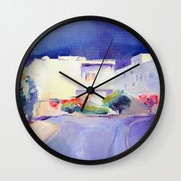 Before the Rain by Diana Grigoryeva Wall Clock