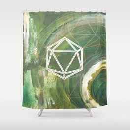 It's Only Water Shower Curtain