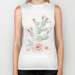 Cactus 3 #society6 #buyart Biker Tank