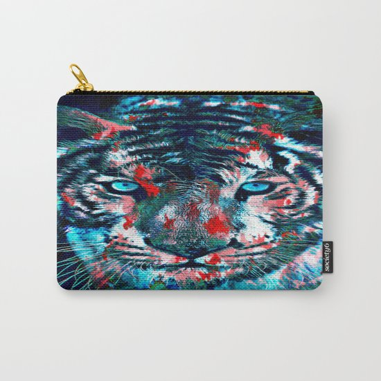 Artistic Tiger Carry-All Pouch