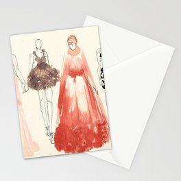 Alexander McQueen Fashion Illustrations 2013 Stationery Cards