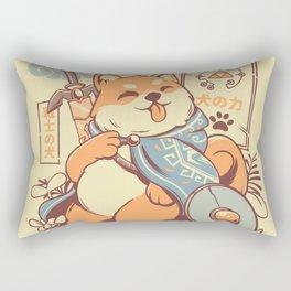 The legend of Dog Rectangular Pillow