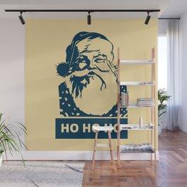Ho Ho Ho Santaclaus modern pop art Wall Mural