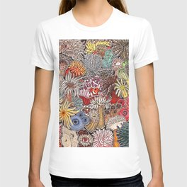 Clown fish and Sea anemones T-shirt